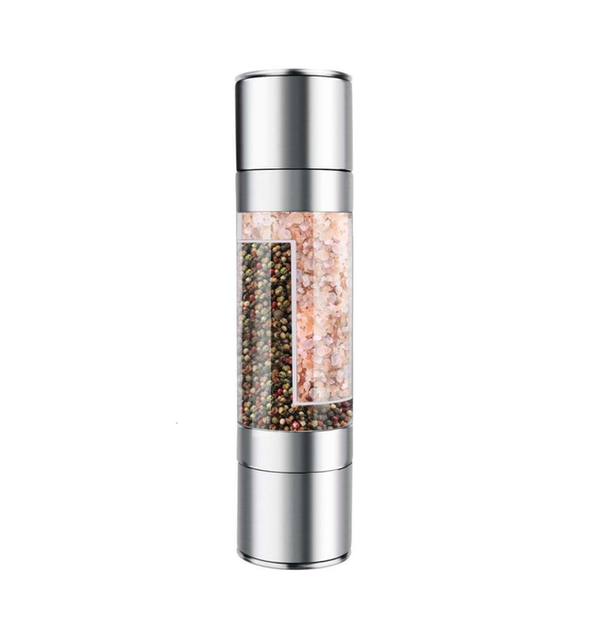 2-in-1 Manual Pepper and Salt Mill 1