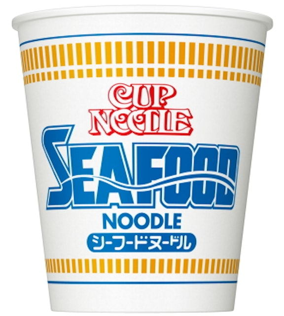 Nissin Cup Seafood Noodles 1