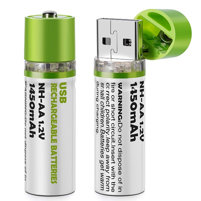 USB Rechargeable AA Batteries 1