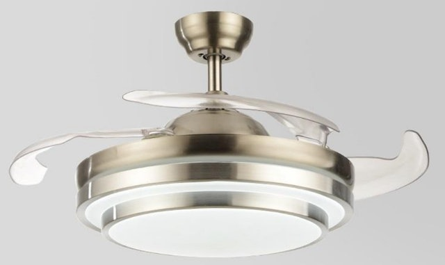 Manzan Ceiling fan with Ceiling LED 1