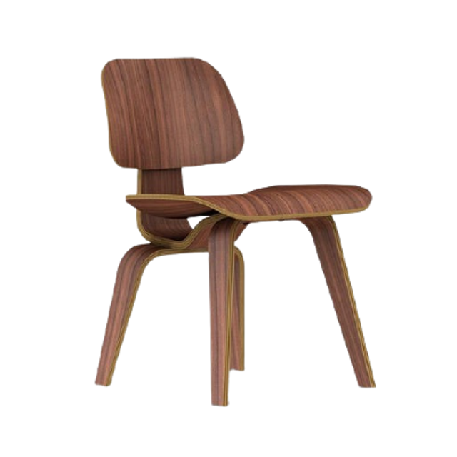Herman Miller Eames Molded Plywood Dining Chair Wood Base 1