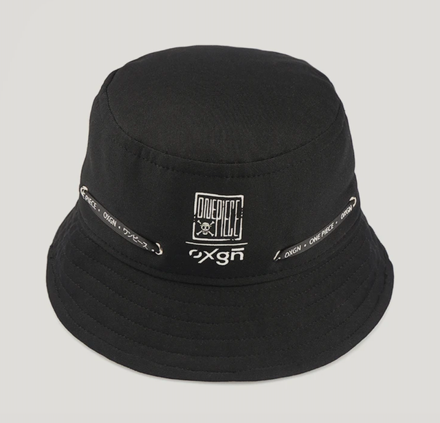OXGN Men's One Piece Bucket Hat With Embro and Cord Detail  1