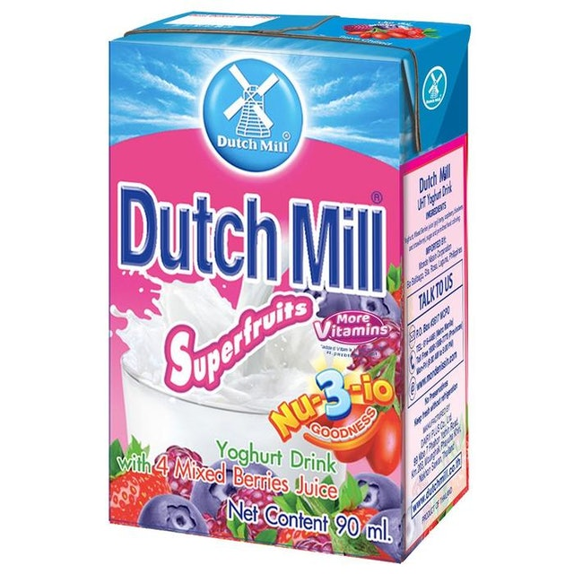 Dutch Mill Superfruits With Mixed Berries Yogurt Drink 1