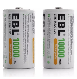 Top 10 Best Rechargeable Batteries in the Philippines 2020 (Enook, eneloop, EBL, and More) 2