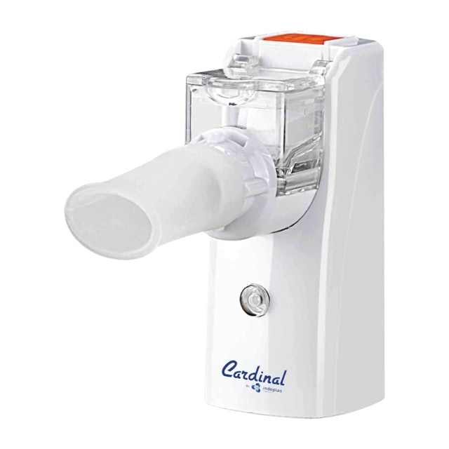 Indoplas Rechargeable Portable Microjet Mesh Nebulizer 1