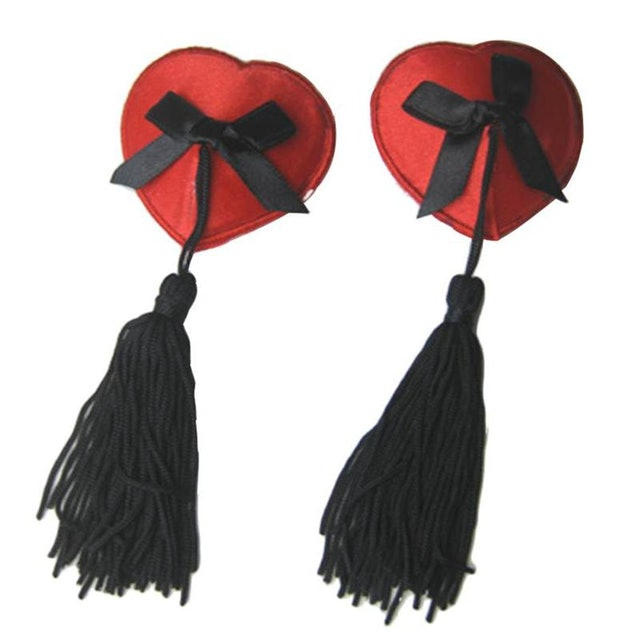 OHYEAH Nipple Tapes with Tassels 1