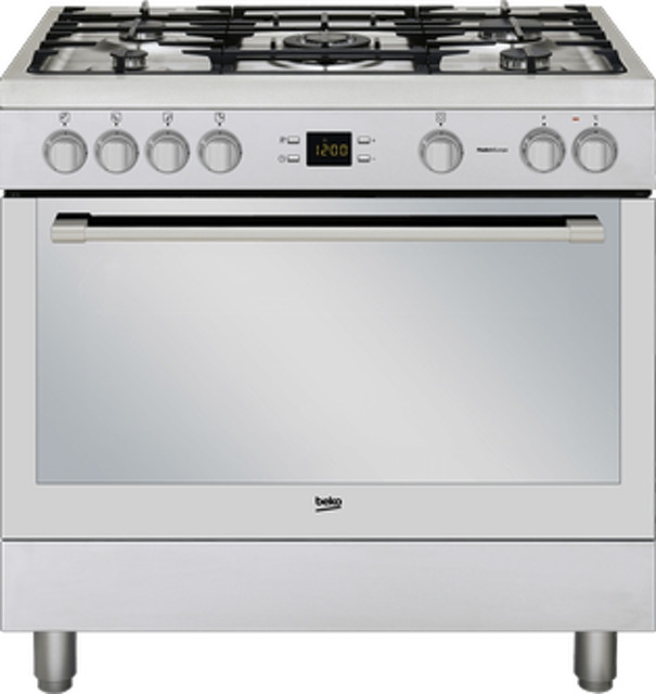 Beko Gas Range with Electric Oven & Grill 1