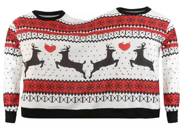 Couple Pullover Sweater  1