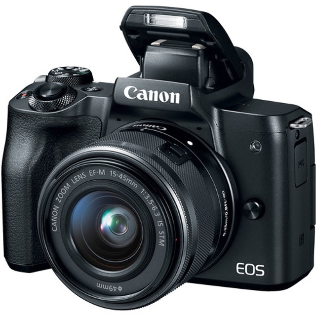 Canon EOS M50 with 15-45mm Lens 1