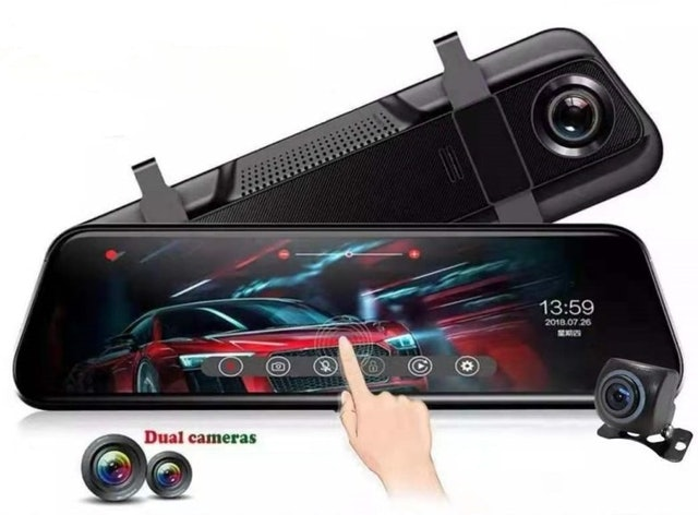 V2S Hawk-Eye Mirror Dash Camera 1