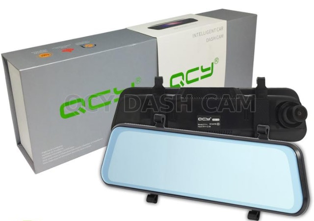 QCY Super Night Vision Mirror Dash Cam 1