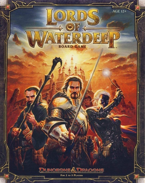 Dungeons and Dragons Lords Of Waterdeep 1