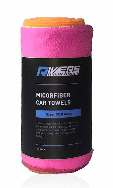 Rivers Auto Detailing Chemicals Microfiber Car Towels 1