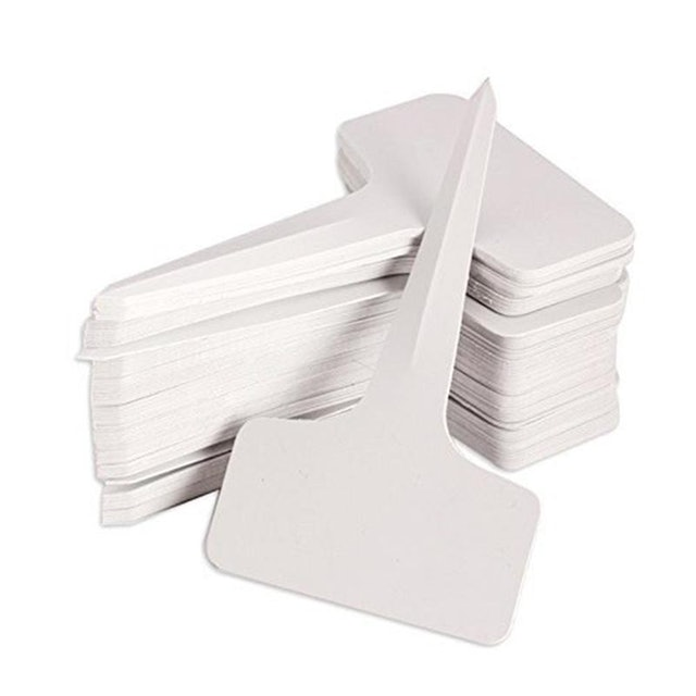 No Brand 100-Pieces White Garden Labels  1