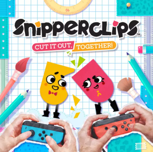 SFB Games Snipperclips, Cut It Out Together  1