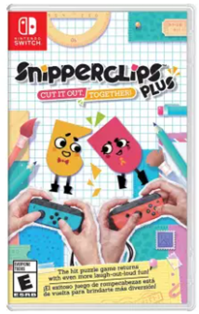 Nintendo Snipperclips Plus: Cut It Out, Together! 1