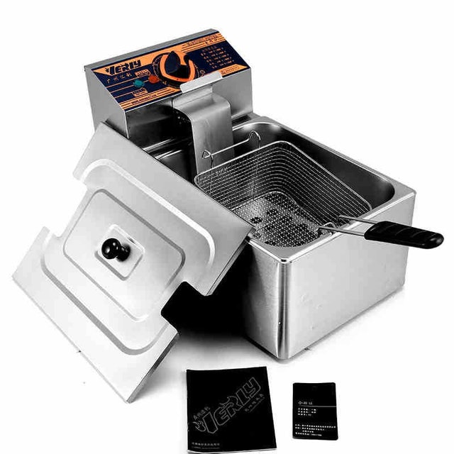 Verly  Heavy Duty Electric Deep Fryer Frying Machine Commercial 1