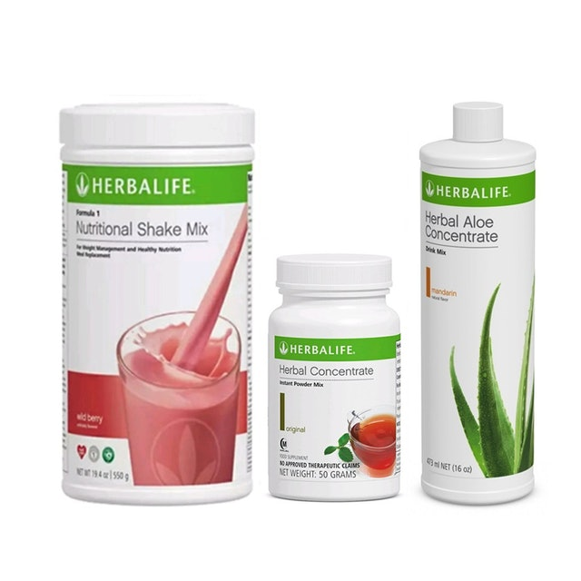 Herbalife 3-in-1 Weight Loss Drink Set 1