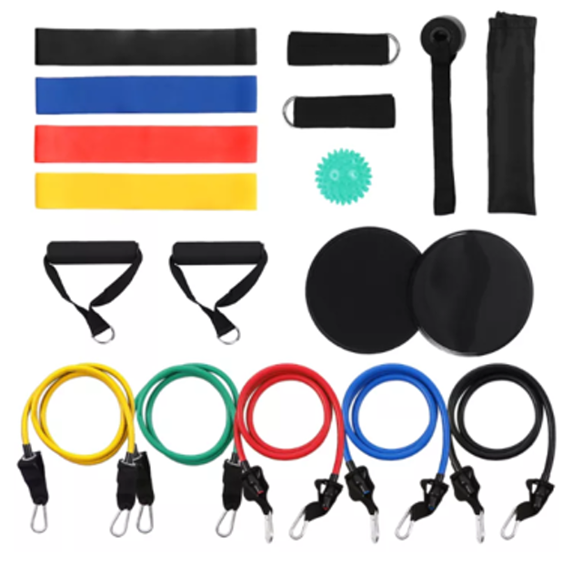Lixada 18 Piece Resistance Bands Set 1