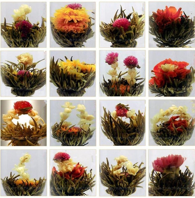 HelloYoung Handmade Blooming Flower Tea 1