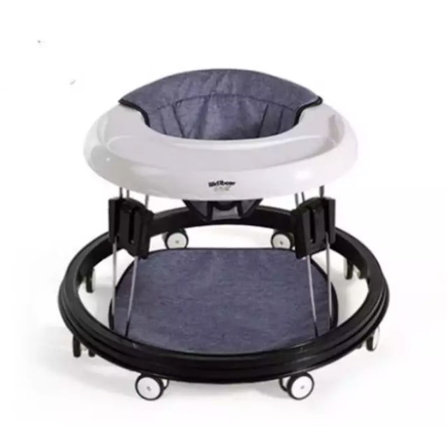 Baby Walker 6/7-18 Months Multi - Functional Anti - O Leg Roll Boys And Girls Baby Children Hand Push Can Sit 1