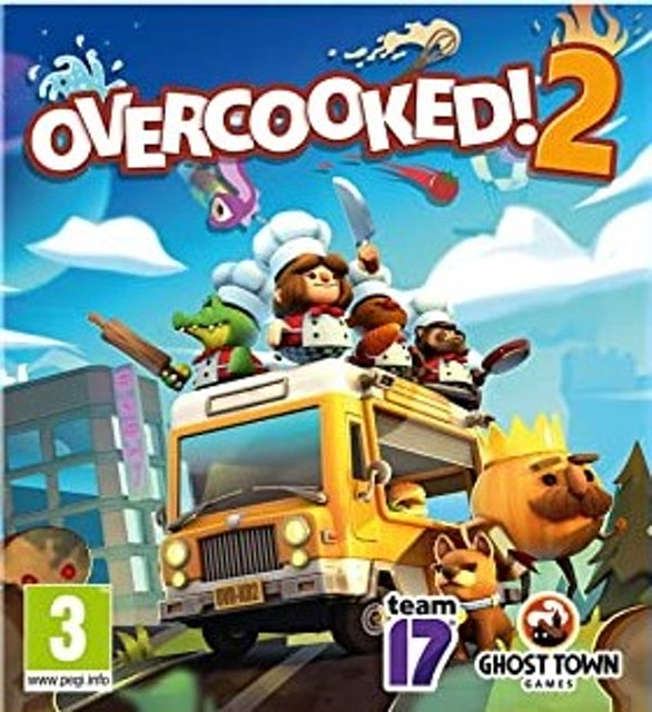 Ghost Town Games Ltd., Team17 Overcooked! 2 1