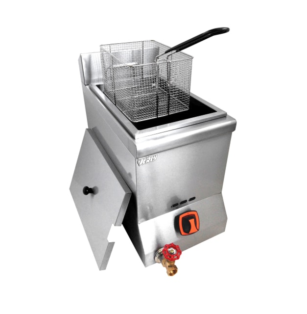 Verly  Commercial Equipment Gas Professional Style Deep Frying Machine  1