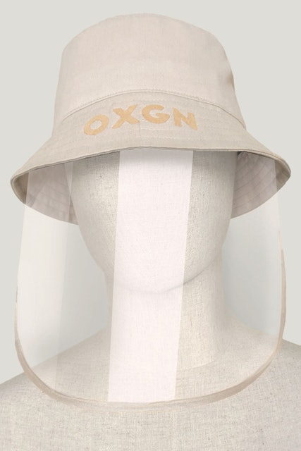OXGN Men's Premium Threads Bucket Hat with Face Shield 1