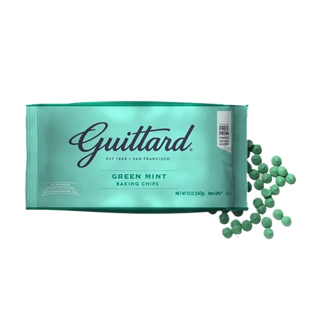 Guittard Chocolate Mint Chips 1