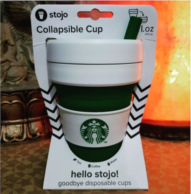 Starbucks Collapsible Cup 1
