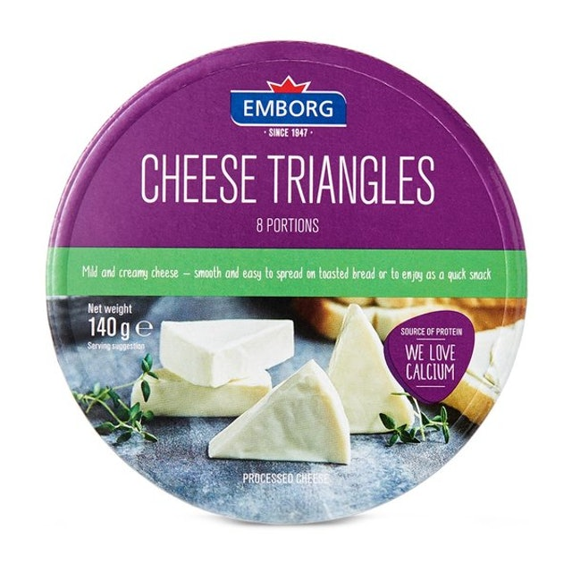 Emborg Cheese Triangles 1