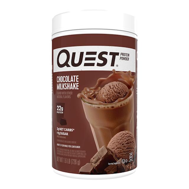 Quest Protein Powder Chocolate Milkshake 1