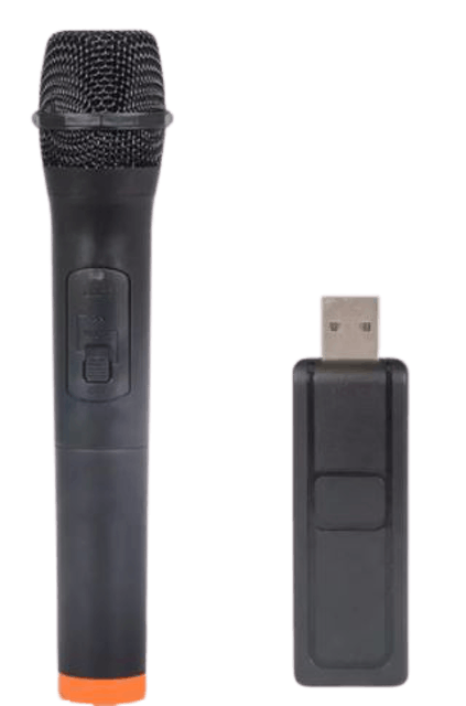 Orzson Handheld Wireless Microphone with USB Receiver 1