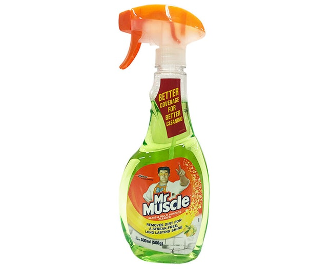 Mr. Muscle  Glass and Multi-Surface Cleaner 500ml - Lemon Lime 1