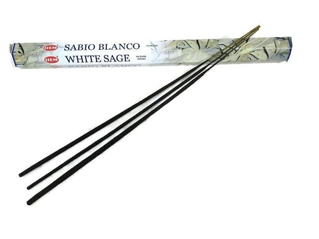 HEM White Sage Incense Sticks Extra Long 1