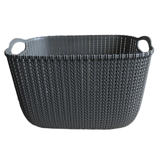 Dolity Waterproof Laundry Basket Clothes Storage  1