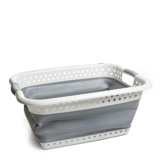 Home Plus Collapsible Laundry Basket 1