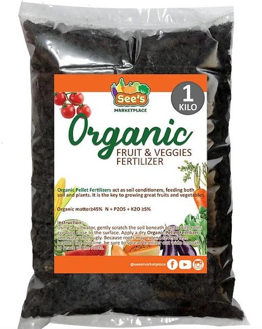 See's Organic Veggie Fertilizer 1