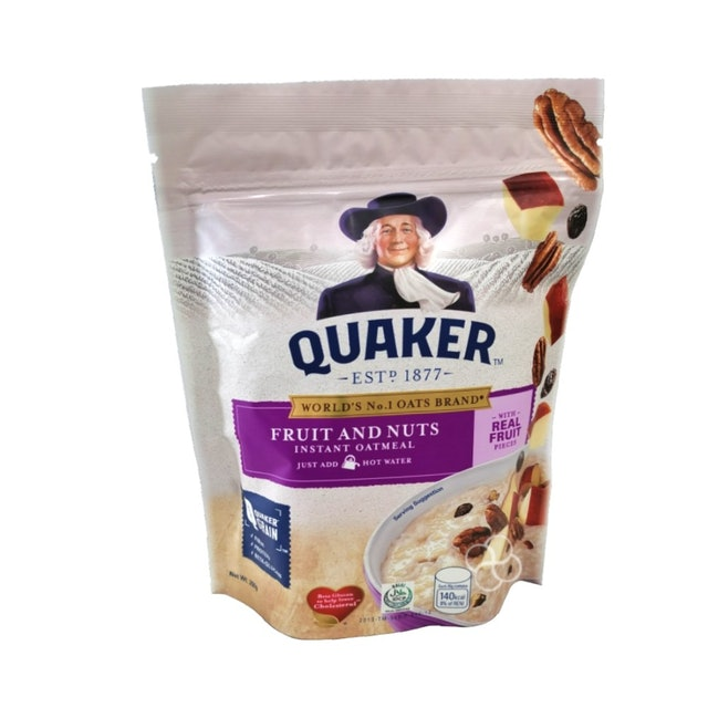 Quaker Instant Oatmeal Fruit and Nuts Flavor (350 g - Pack of 3) 1