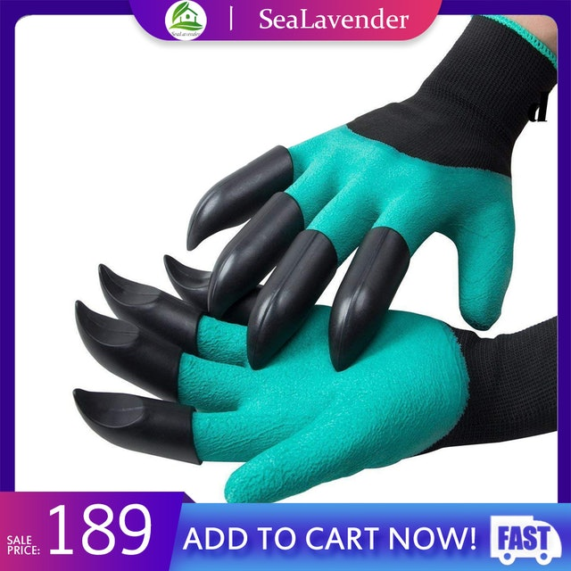 OEM Gardening Gloves with Fingertip Claws 1