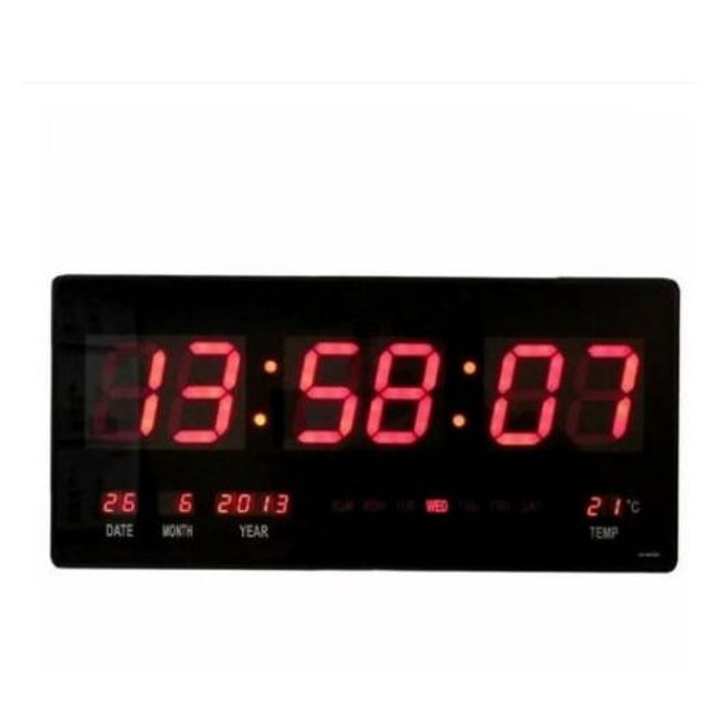 Large Digital Display LED Wall Clock 1