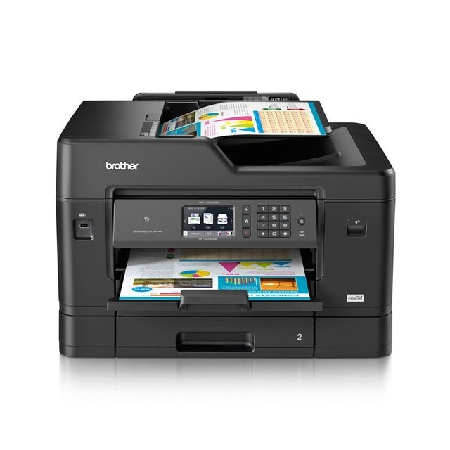 Brother Wi-Fi A3 Color All-in-One Printer 1