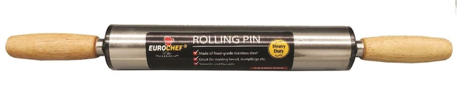 Eurochef Stainless Steel Rolling Pin 1