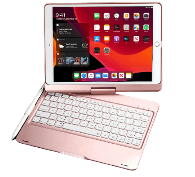 Backlight Keyboard Cover for iPad 1