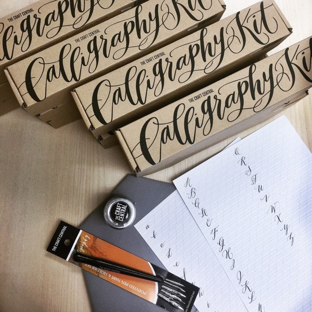 The Craft Central  Beginner's Calligraphy Kit 1