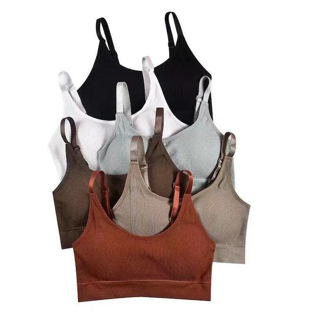 Arturo  Threaded Sexy Bra Bralette Yoga T-shirt Brallete  1