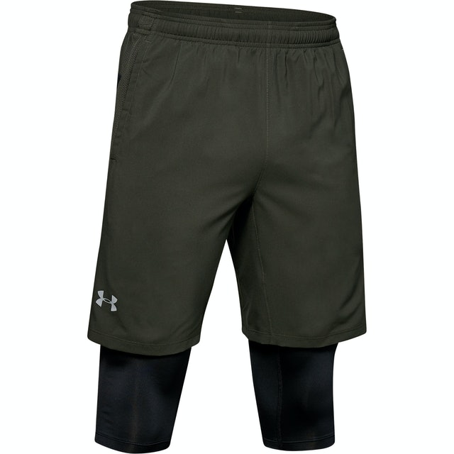 Under Armour Launch SW 2-in-1 Long Shorts 1