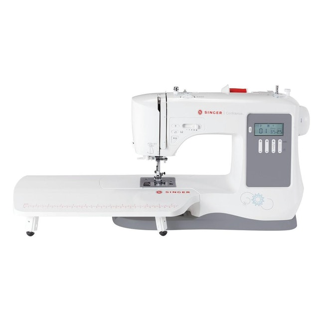 Singer 7640 Confidence Computerized 200-Stitch Sewing Machine 1