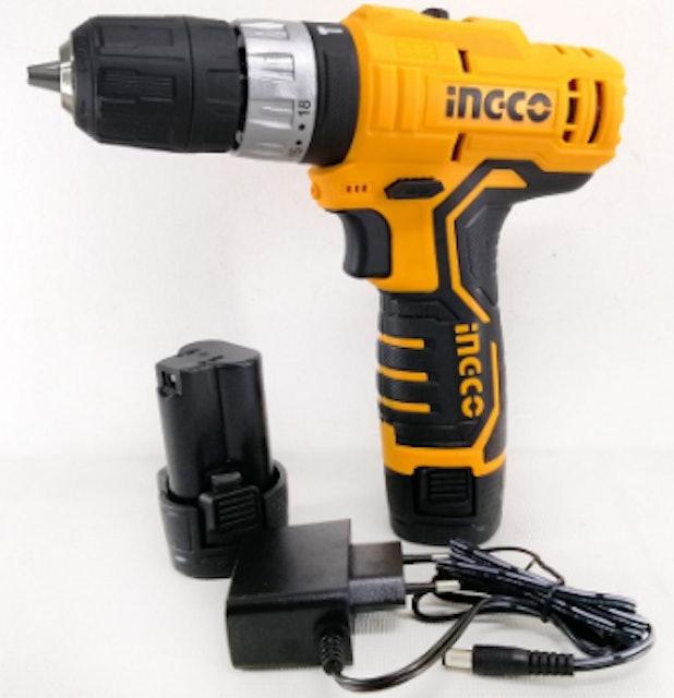 INGCO Cordless Impact Drill 12V 1