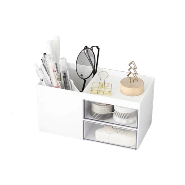 Pen & Supplies Desk Storage Box 1